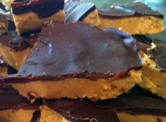 Almond Butter Fudge Bars