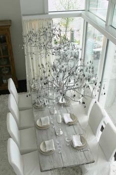 Perfect dinner table