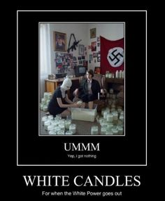 White candles and white power  http://hehepics.com/?p=184