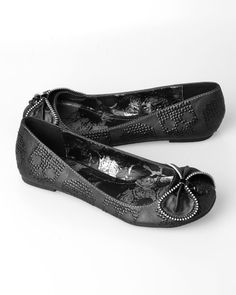 Iron Fist flats - too cute!