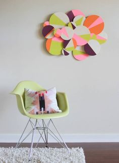 DIY nursery art