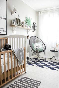 mix and match patterns #nursery #design #homedecor