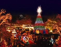 Silver Dollar City in Branson, MO, always puts on a spectacular show, especially during the holiday season.