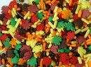 Fall Leaves Sprinkles Mix