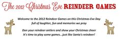 Life.Design. and the Pursuit of Craftiness: Reindeer Games on Christmas Eve