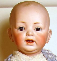 Kestner JDK Baby Doll Dome Head Glass Eyes 14 German Bisque Compo Body Beauty   eBay
