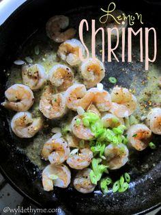 Lemon Shrimp @ wyldethyme.com