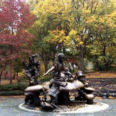 Alice in Autumnland #FallFoliage #centralpark autumnland fallfoliag, alice in wonderland, central park, fallfoliag centralpark