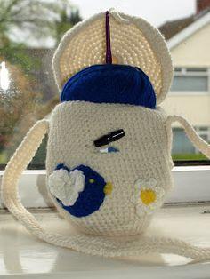 Crochet Addict CFS: Yarn Bag & Project Bag Free Pattern