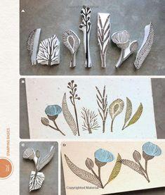 Making an Impression: Designing & Creating Artful Stamps: Geninne Zlatkis: 9781454701255: Amazon.com: Books