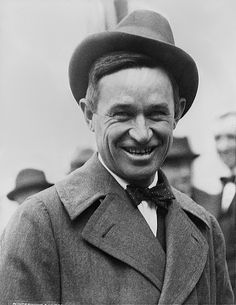 "William Penn Adair ""Will"" Rogers (November 4, 1879 - August 15, 1935) was an American cowboy, vaudeville performer, humorist, social commentator and motion picture actor. He was one of the world's best-known celebrities in the 1920s and 1930s.  Known as Oklahoma's favorite son, Rogers was born to a prominent Cherokee Nation family in Indian Territory (now part of Oklahoma)."