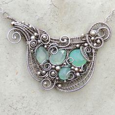 Seafoam Necklace - Mermaid Amulet by Samantha_Braund, via Flickr