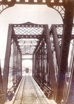 "1891 photo from T.F. Schley Photograph Collection.   ""On the B & O, Rowlesburg (West Virginia) Bridge"