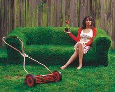 Unique Sofa Outdoor Fresh Grass