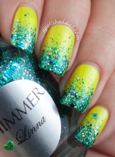 Shimmer Nail Polish. #Nail art. Nail Design. #ShopSimple
