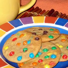 ... shortening. Cookies Recipe, M M Cookies, Mnm Cookies, Cookie Recipes