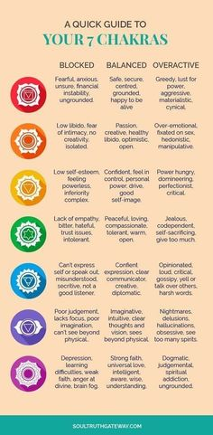 A Quick Guide to Your 7 Chakras | Chakras For Beginners | Chakras Healing | Chakras Balancing | Chakras Cleanse #chakras #soultruthgateway by Kathleen Connaire