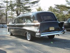 1957 Bel Air Hearse