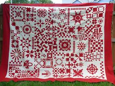 Tales from Park Drive: Red and White Quilt