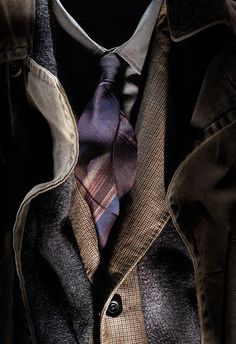 Jacket and tie