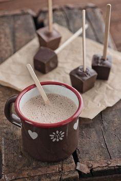 Hot Chocolate on a Stick