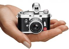 The Genuine Minox Compact Camera - $220 #cool #picture #photo #take #compact #small #quality #LCD #display