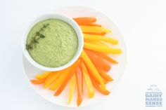 Try this Fresh Green Pea and Parmesan Dip as a flavorful, protein-packed dip during spring or summer.