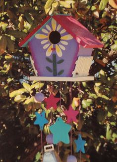 CHIMES: Birdhouse Wind Chime