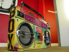 Boom boxes!