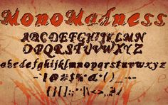 20 Creative Grunge Fonts To Download