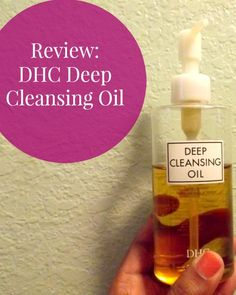 Deep Cleansing Oil by @DHCcare