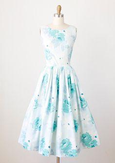 love the vintage dresses