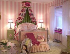 Safe DIY ? little girl bedrooms, girl room, kid bedroom, canopy beds