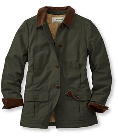 Adirondack Barn Coat, Insulated: Casual Jackets | Free Shipping at L.L.Bean warm for up to -20 degrees