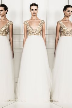 Zuhair Murad Ready-to-Wear / Resort 2014 - Fashion Diva Design I would get married in this, it's amazing!