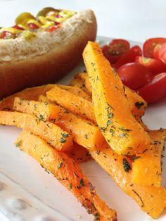 Butternut squash faux fries
