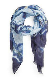 tie-dye scarf / mango