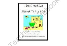 Creative Counseling 101 Sand Tray Therapy eBook from Creative Counseling Ideas on TeachersNotebook.com -  (147 pages)  - Download Your Copy of The Creative Sand Tray 101 Today for only $39.95  Now you can have the actual book that I teach from in my graduate classes for sand tray therapy!