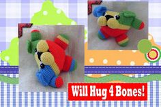 Funmigurumi And Kids Stuff: Kibbles the Dog  #Free #crochet #Amigurumi #pattern  #dogs