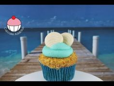 Beach Cupcakes! Decorate Summer Beach Cupcakes