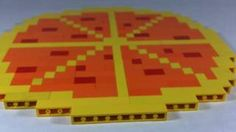How To Build a LEGO pizza