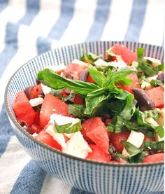 10 Creative and Refreshing Watermelon Salads for Summer!