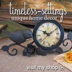 Timeless Settings a walk in the south http://timeless-settings.com/blog/
