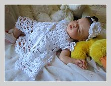 Ravelry: Cielo Baby Dress pattern by Betty Fay Wallace