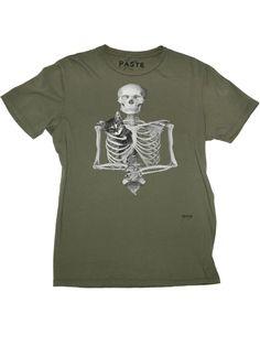 Paste - Skeleton T-Shirt
