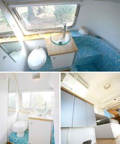 Vintage Airstream Converted into Home/Office Hybrid | Designs & Ideas on Dornob
