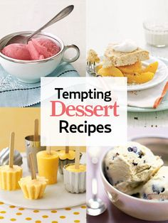 Save room for these tempting desserts! http://www.countryliving.com/cooking/about-food/dessert-recipes
