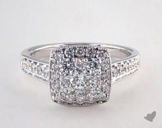 You asked :) Just for whenever you are ready! Royal Halo Cushion Shape Classic Engagement Ring