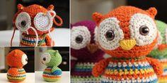 DIY Crochet Baby Owl