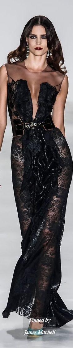 Glamour Gown...Samuel Cirnansck Collection Spring Summer 2015 Sao Paolo